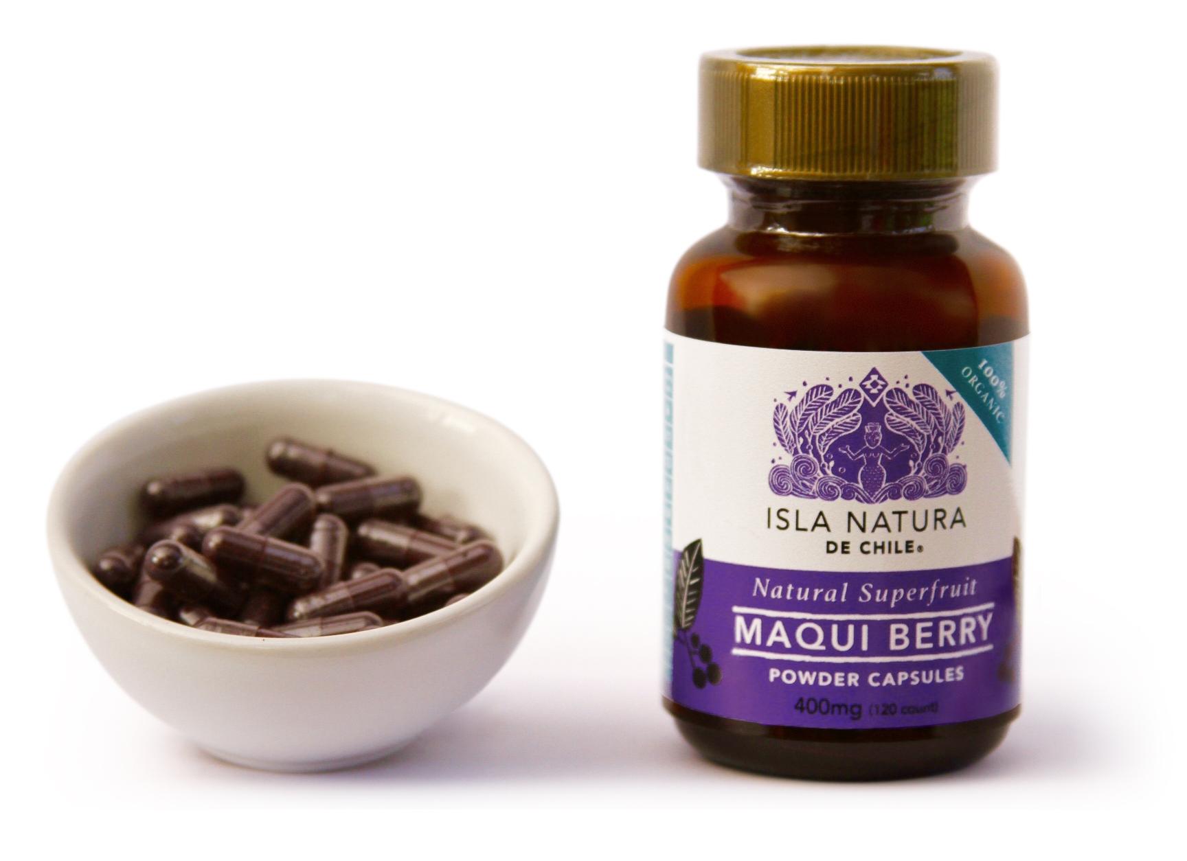 Maqui in capsules, el poderoso antioxidante natural.