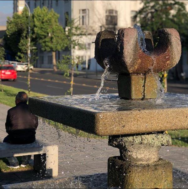 Fuentes de agua Av. Matta